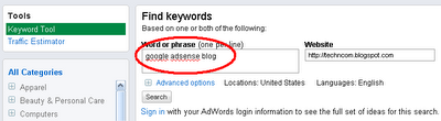 Find+Keywords